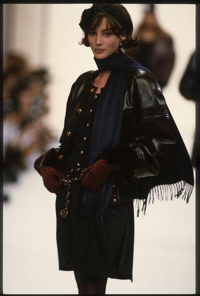 Christy Turlington, Chanel autumn/winter '91/'92, Paris Fashion Week