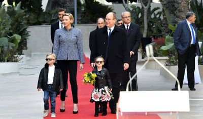 Royal family opens One Monte-Carlo, February 2019