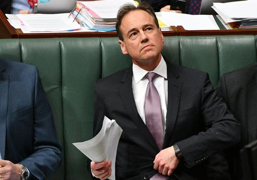 Mr Hunt only apologised to Cr Miller six months after the altercation. (AAP)