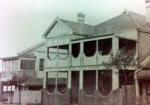 The Bethesda Hospital in Sydney's Marrickville, where Peter Moore was born. (Photo: Care Leavers Australia Network)
