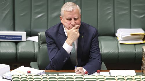 Michael McCormack has been toppled as Nationals leader in a spill.