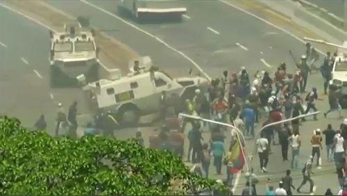190501 Venezuela coup crisis South America politics News World