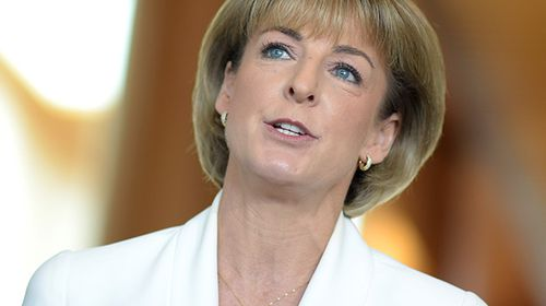 Michaelia Cash was named as Minister for Women and Minister for Employment. (9NEWS)