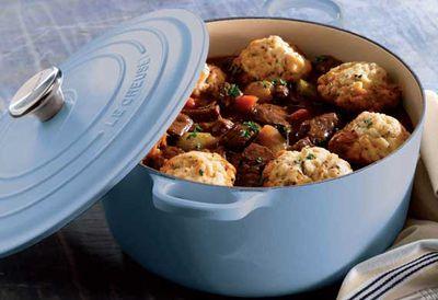 "Recipe: <a href=""/recipes/ibeef/9001785/steak-casserole-with-thyme-scented-dumplings"" target=""_top"">Steak casserole with thyme dumplings</a>"