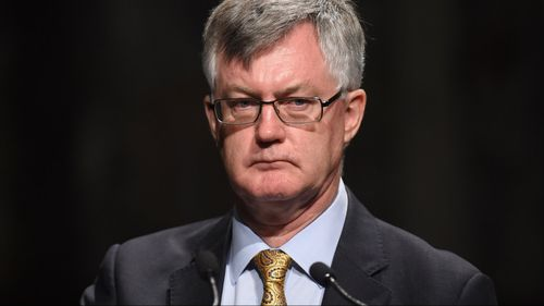 """Department of Prime Minister and Cabinet chief Martin Parkinson is """"deeply concerned"""" at the lapse in security. (AAP)"""