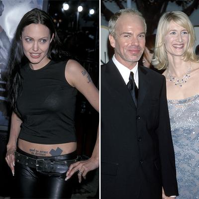 Angelina Jolie, Billy Bob Thornton and Laura Dern
