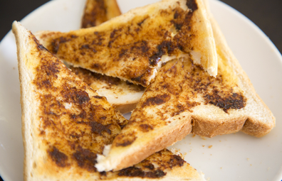 Vegemite on toast generic
