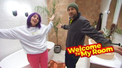 Welcome To My Room: Tanya and Vito gush over the tiles in their bathroom