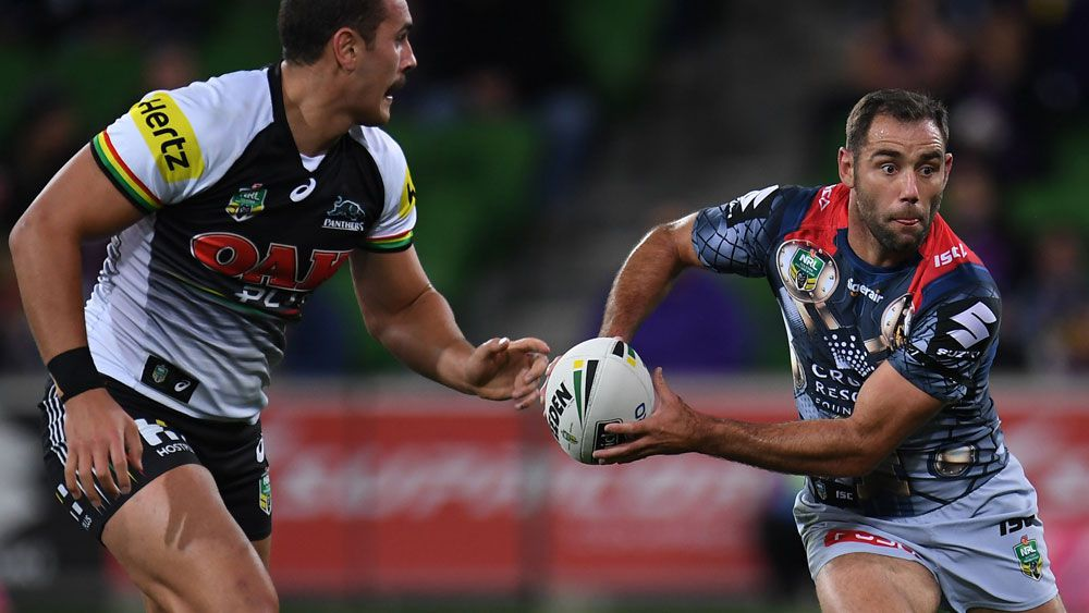 Storm beat Penrith, alone atop NRL ladder
