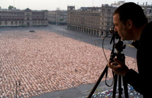 Spencer Tunick is world-famous for his nude photos. Picture: Spencer Tunick