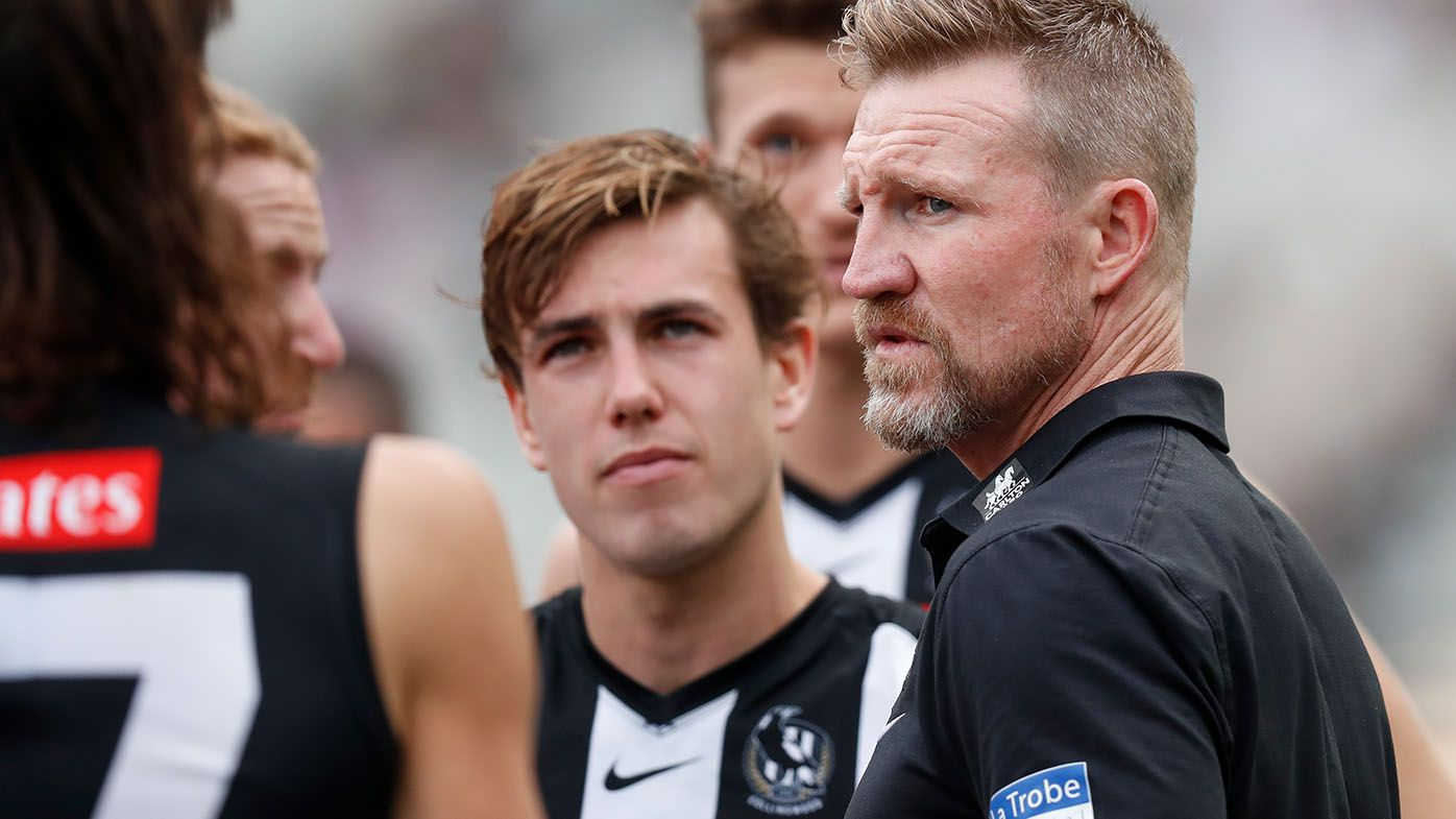 Nathan Buckley getting less heat on coaching job due to playing career, Matthew Lloyd says