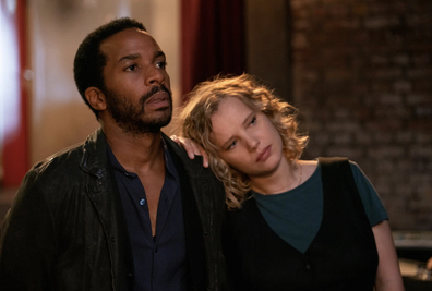 Andre Holland and Joanna Kulig in 'The Eddy.'
