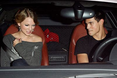 """Taylor Swift, 20 at the time, spent quality time with then-17-year-old Taylor Lautner after meeting on the set of <i>Valentine's Day</i> in 2009. They went out from October to December that year, but it never got serious. Her third single from <i>Speak Now</i>, 'Back to December', is believed to be an apology to Taylor for a bad break-up.<br/><br/>""""Because the last time you saw me/ Is still burned in the back of your mind/ You gave me roses, and I left them there to die/ So this is me swallowing my pride/ Standing in front of you, saying I'm sorry for that night/ And I go back to December all the time,"""" Taylor sings."""