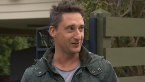 The humble hero spoke about last night's rescue. (9NEWS)