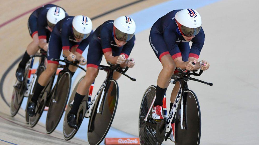 British riders in Rio (AFP)