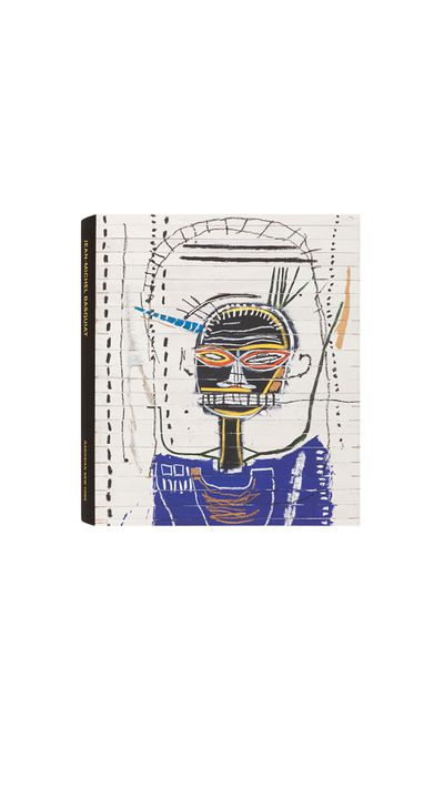 Along with many of Basquiat's works, this tome includes an account by the late artist Rene Ricard of his friendship with Basquiat.