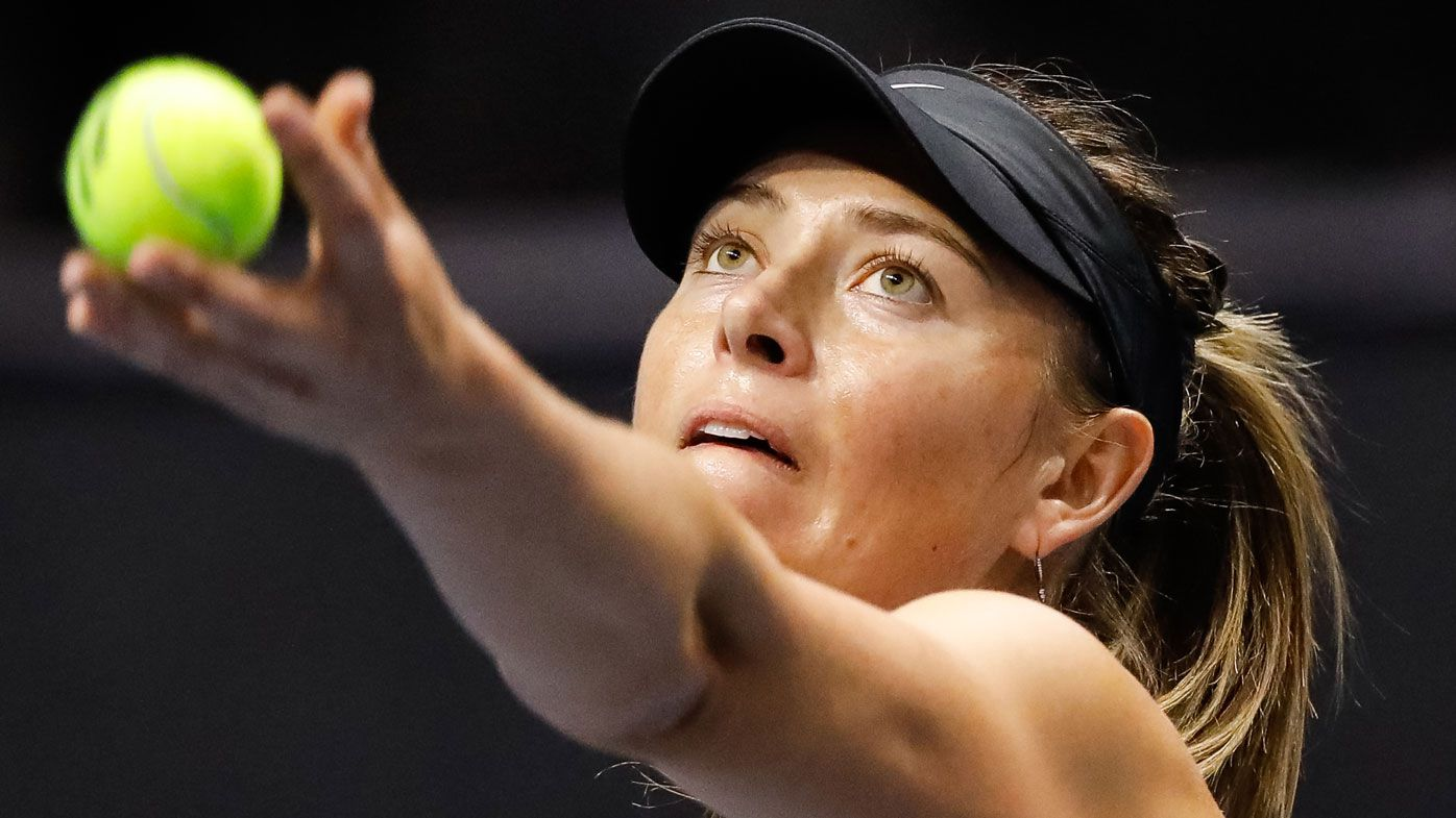 Maria Sharapova reveals shoulder surgery, layoff after playing through pain
