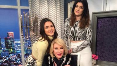 @KendallJenner Rest In Peace to the amazing Joan Rivers. very very sad news. (Twitter)