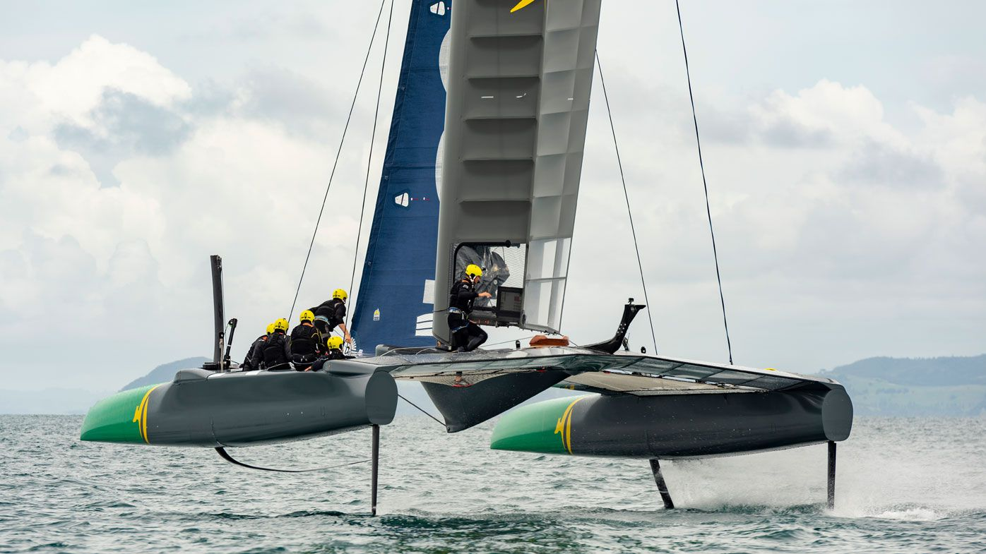 'The F1 of the water': Tom Slingsby to head Team Australia in inaugural SailGP racing league