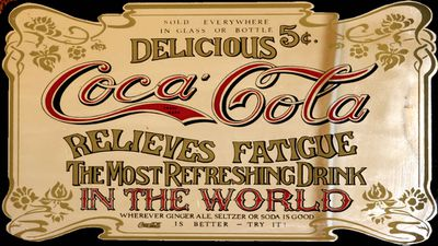 <strong>3. Coca-Cola (late 1800's)</strong>