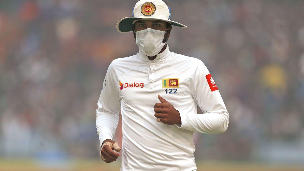 Virat Kohli double ton leads India romp as Sri Lanka struggle with Delhi smog
