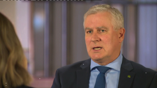 Nationals leader Michael McCormack has urged Australians to stay at home this Easter.