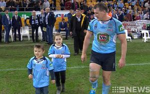 VIDEO: Paul Gallen to hang up his State of Origin boots