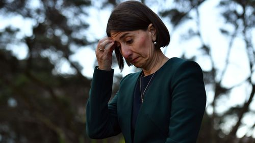 NSW Premier Gladys Berejiklian after facing ICAC today.