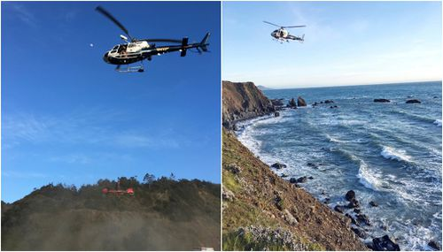 Searchers were out today in boats and aircraft scouring the North Californian coast for Devonte and his two other missing siblings. (AAP)