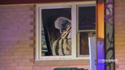 One Molotov cocktail was thrown inside two-year-old Lincoln's bedroom at the front of the house. (9NEWS)