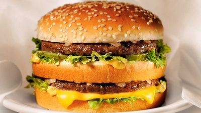 McDonald's gives away free burgers for world Burger Day