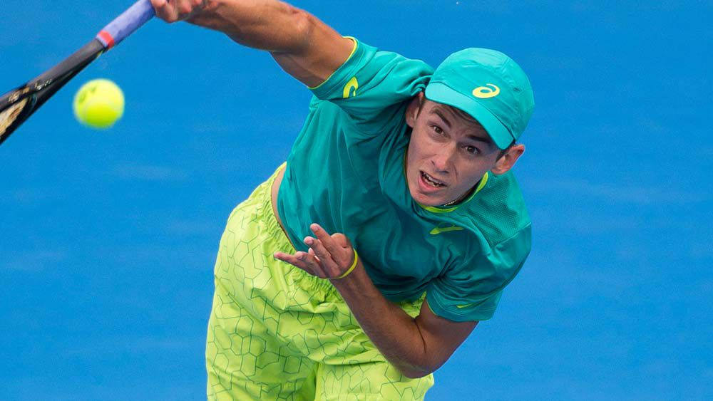 De Minaur clinches Sydney semi-final spot