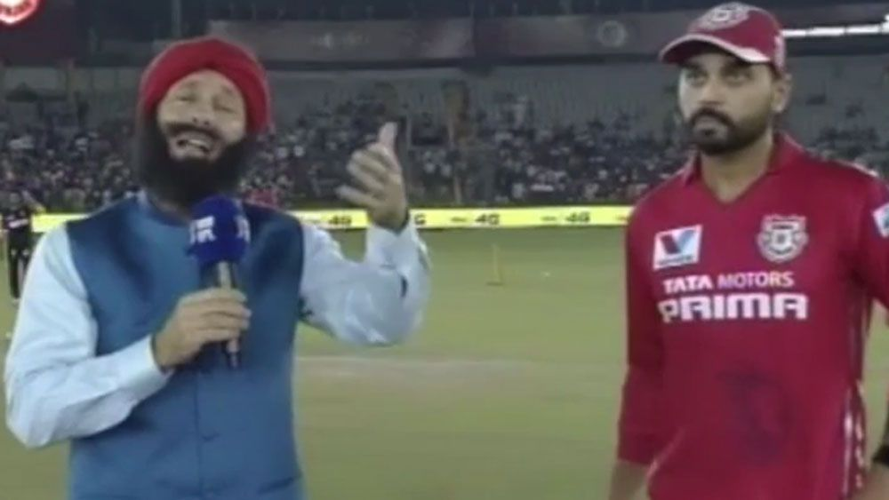 Morrison's Indian impersonation leaves IPL stars cold