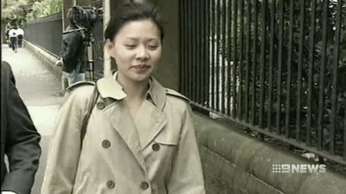 Kathy Yeo murdered her boyfriend and severed his head. Picture: 9NEWS