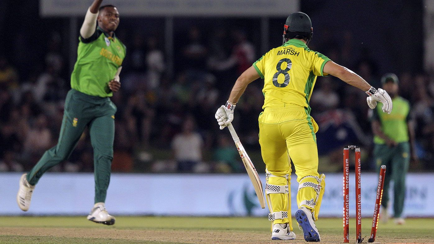 Lungi Ngidi tears through Aussies in second ODI, sealing series for South Africa
