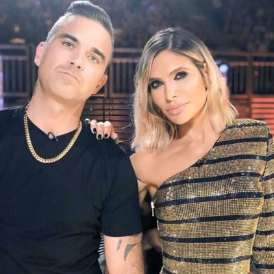 Robbie Williams and Ayda Field welcome third child in secret