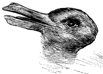 Duck or rabbit? Joseph Jastrow discovered this painting in 1900, but while it's not known who drew it, its an early version of a classic illusion.