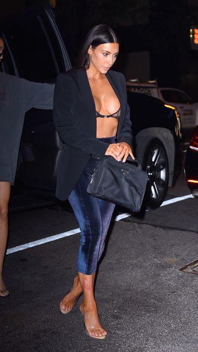 Kim Kardashian  in New York, July, 2017