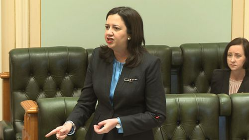 Queensland Premier Annastacia Palaszczuk today.