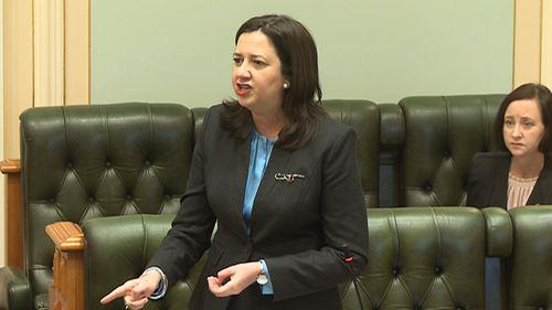 Queensland Premier Annastacia Palaszczuk today.