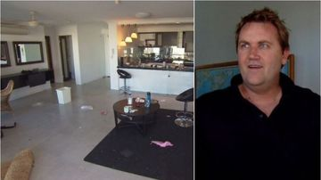 Serial conman's flat 'stripped bare' before eviction