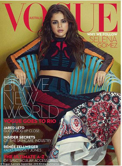<p><strong>3.&nbsp;</strong></p> <p><em>Vogue</em> Australia has had a year of strong cover subjects,<em></em> including Victoria Beckham and Kim Kardashian but the combination of Selena Gomez in colourful Louis Vuitton delivered a memorable upbeat result.</p>
