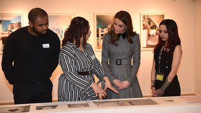 The Duchess of Cambridge visits The Foundling Museum.