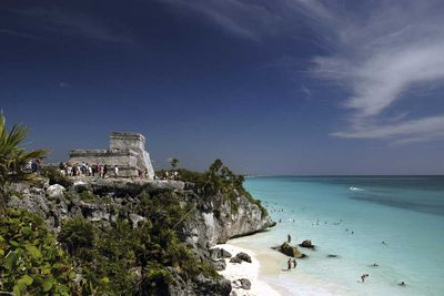 "<a href=""http://elsewhere.nine.com.au/destinations/north-america/mexico/tulum"" target=""_top""><strong>Tulum</strong></a><strong>, Mexico</strong>"
