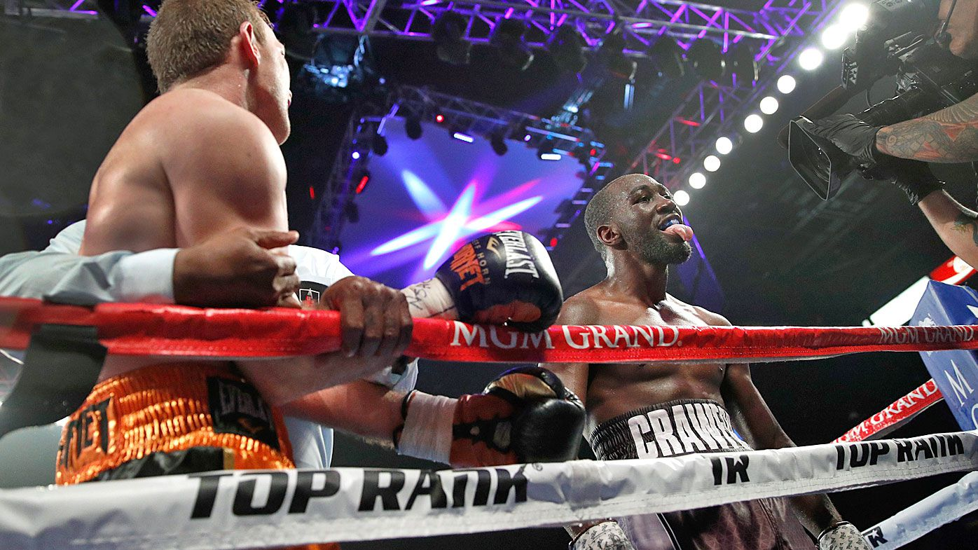 Terence Crawford shows no love for Jeff Horn after TKO victory in WBO welterweight bout
