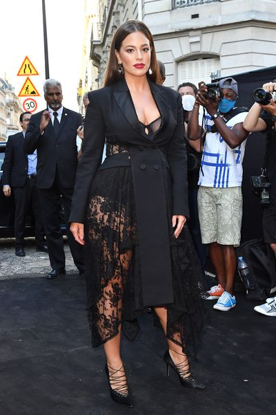 "No further evidence is required that lace is back in a big way than Ashley Graham steaming up the sidewalks of Paris on Wednesday.<br /> <br /> <a href=""https://style.nine.com.au/2018/01/25/09/28/ashley-graham-revlon-beauty-campaign-plus-size"" target=""_blank"" title=""The 30-year-old supermodel"">The 30-year-old supermodel</a> attended a gala hosted by <em>Vogue Paris,</em> where her sheer lace ensemble from Alexander McQueen stole second glances as she joined other high-profile attendees such as Naomi Campbell, Emily Ratajkowski, Kaia Gerber and Virgil Abloh at the Palais Galliera.<br /> <br /> Considering lace's connotations with romance and allure, it's not surprising Graham, <a href=""https://style.nine.com.au/ashley-graham/3"" target=""_blank"">the first plus-size model to pose for the cover of <em>Sports Illustra</em>ted</a>, has made it a fixture in her wardrobe.<br /> <br /> ""I know my curves are sexy and I want everyone else to know that theirs are too,"" Graham told<em><a href=""https://www.usmagazine.com/stylish/news/sports-illustrated-plus-size-model-ashley-graham-2015-swimsuit-issue-201542/"" target=""_blank"" title="" US Magazine.""> US Magazine.</a></em><br /> <br /> ""There is no reason to hide and every reason to flaunt."" <br /> <br /> Lace slipped from the spotlight in recent decades, derided as 'dowdy', but Graham and <a href=""https://style.nine.com.au/2017/10/11/13/43/duchess-of-camrbidge-kate-wears-temperley-lace-dress-buy-shop-ootd"" target=""_blank"" title=""the Duchess of Cambridge"">the Duchess of Cambridge</a> are part of a new breed of style icons bringing it back into the spotlight. <br /> <br /> With winter in full swing, there is no time like the present to add a little lace to your cool weather attire. <br /> <br /> For the beginners, consider adding a bralette or slip underneath your winter coat, or for the bold and daring, go full-length in a gown or matching co-ords.<br /> <br /> Click through to find a  piece that is right for you.<br /> <br />"