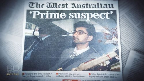 "Police naming Mr Rayney as the ""prime suspect"" drew widespread media attention."