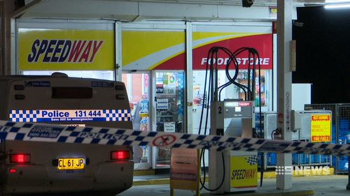 The Speedway service station in Kings Langley. (9NEWS)