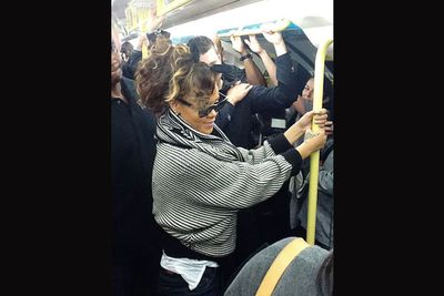And he's not the only one who doesn't mind a ride on the London underground! <br/><br/>RiRi took the tube to her very own gig at O2 Arena, mingling with fans who were on their way to see her perform. Talk about live and intimate...