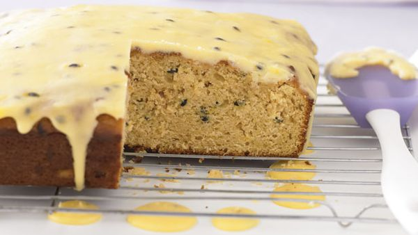 Passionfruit muffin cake